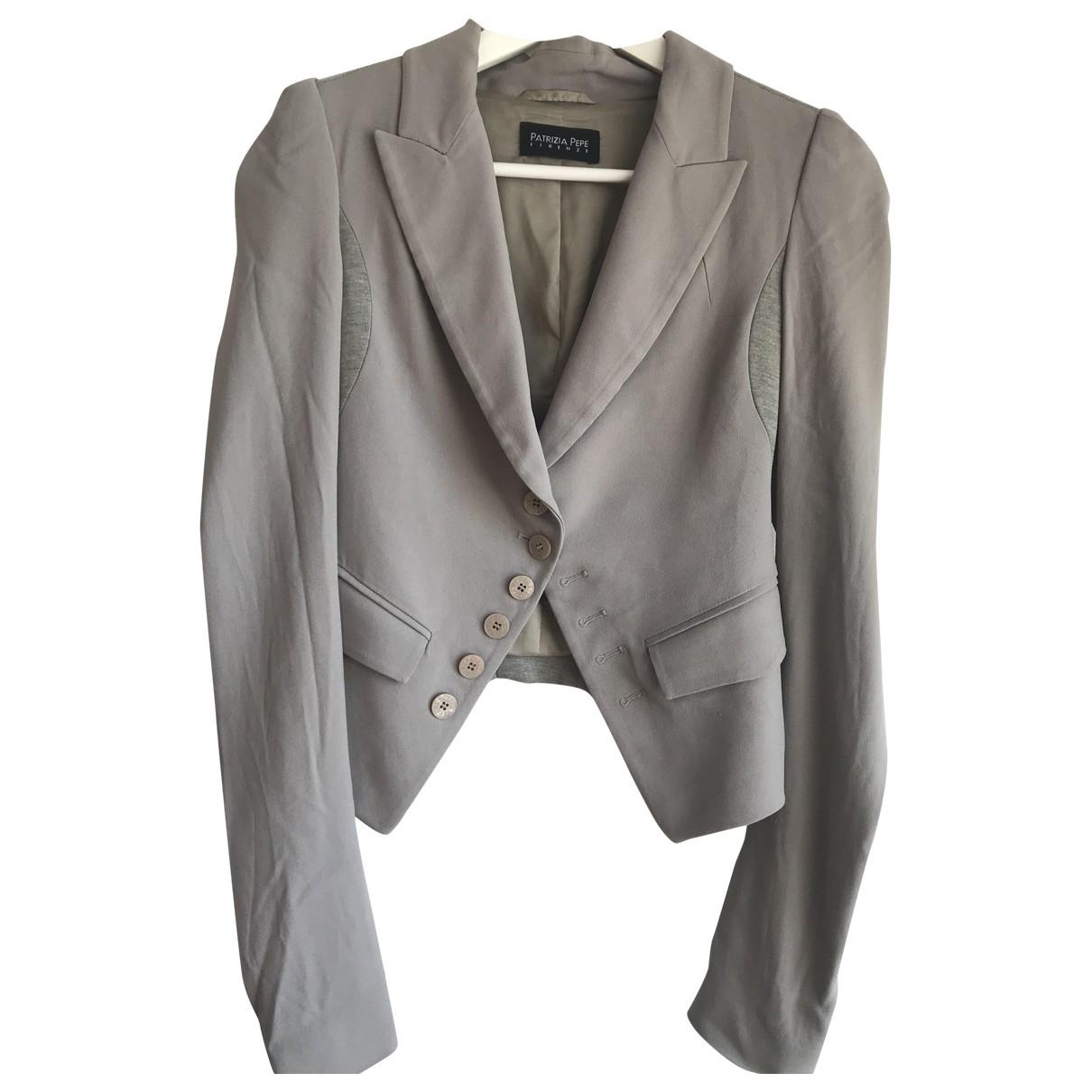 Patrizia Pepe \N Khaki jacket for Women 40 IT