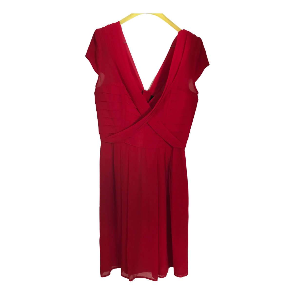 The Kooples \N Kleid in  Rot Polyester