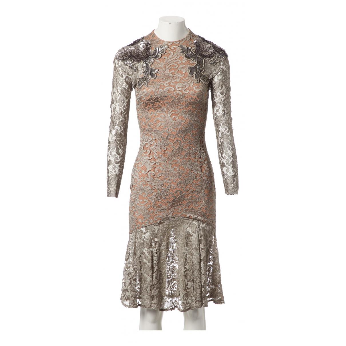 Matthew Williamson \N Gold dress for Women 8 UK
