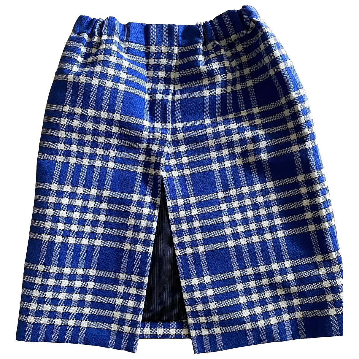 Jacquemus L'Amour d'un Gitan Blue skirt for Women 40 FR