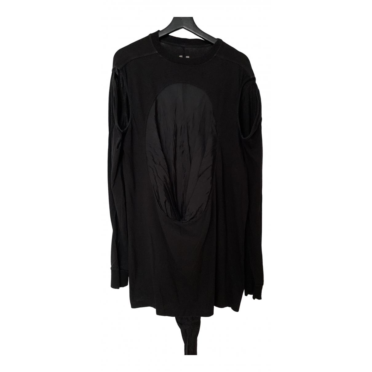 Rick Owens - Tee shirts   pour homme en coton - noir