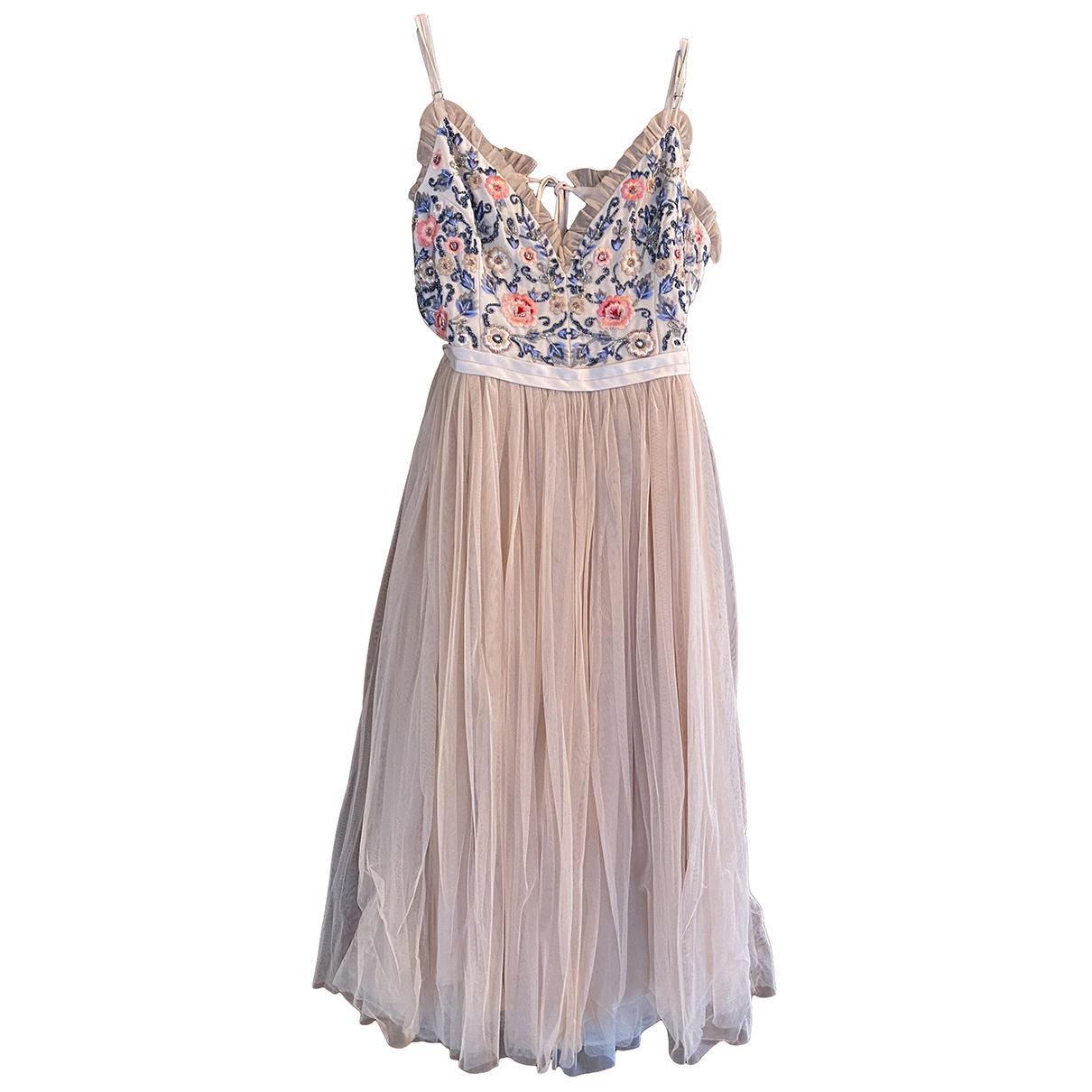 Needle & Thread N Beige dress for Women 14 UK