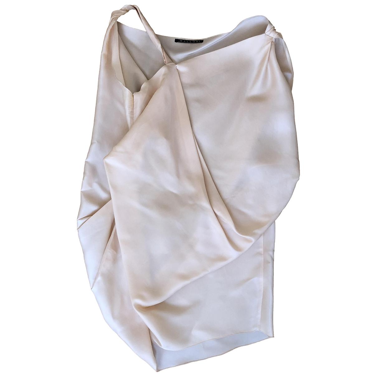 Vestido midi Oversize de Seda Non Signe / Unsigned