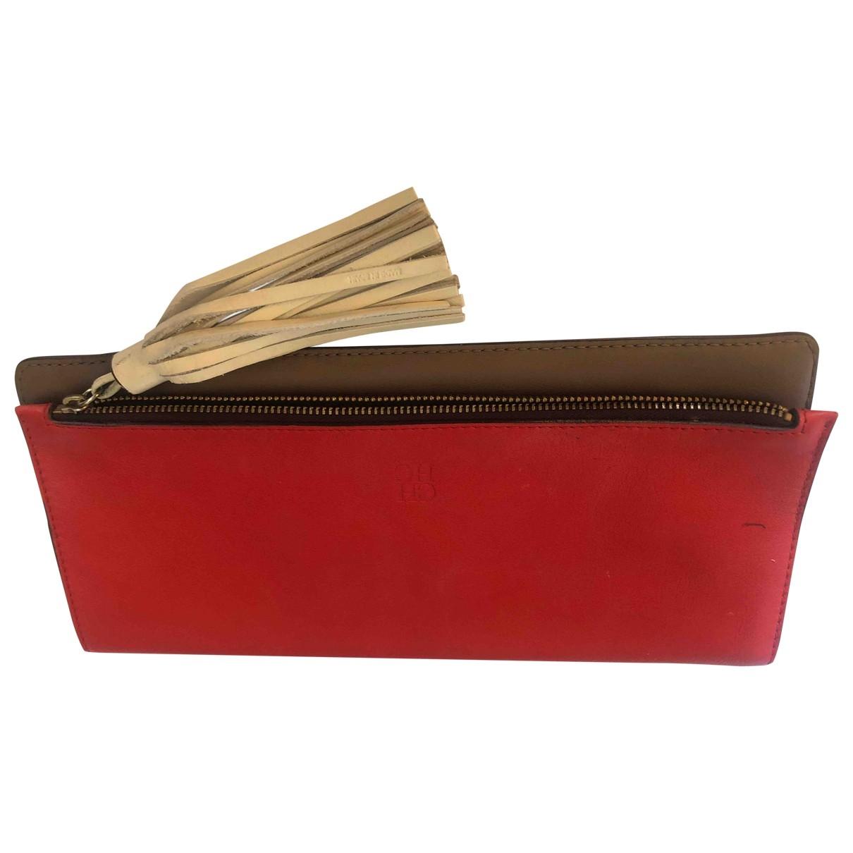 Carolina Herrera \N Multicolour Leather handbag for Women \N