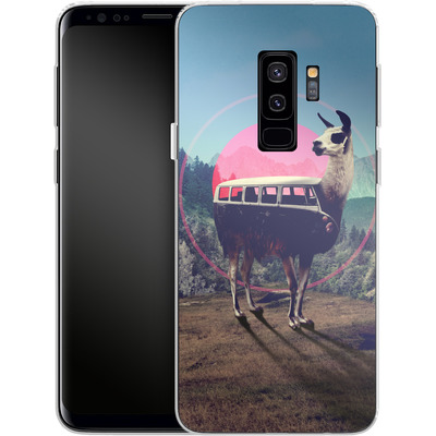 Samsung Galaxy S9 Plus Silikon Handyhuelle - Llama von Ali Gulec