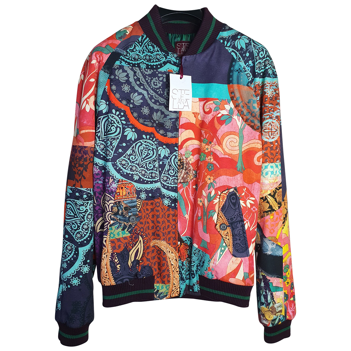 Stella Jean \N Multicolour Cotton jacket  for Men 48 IT