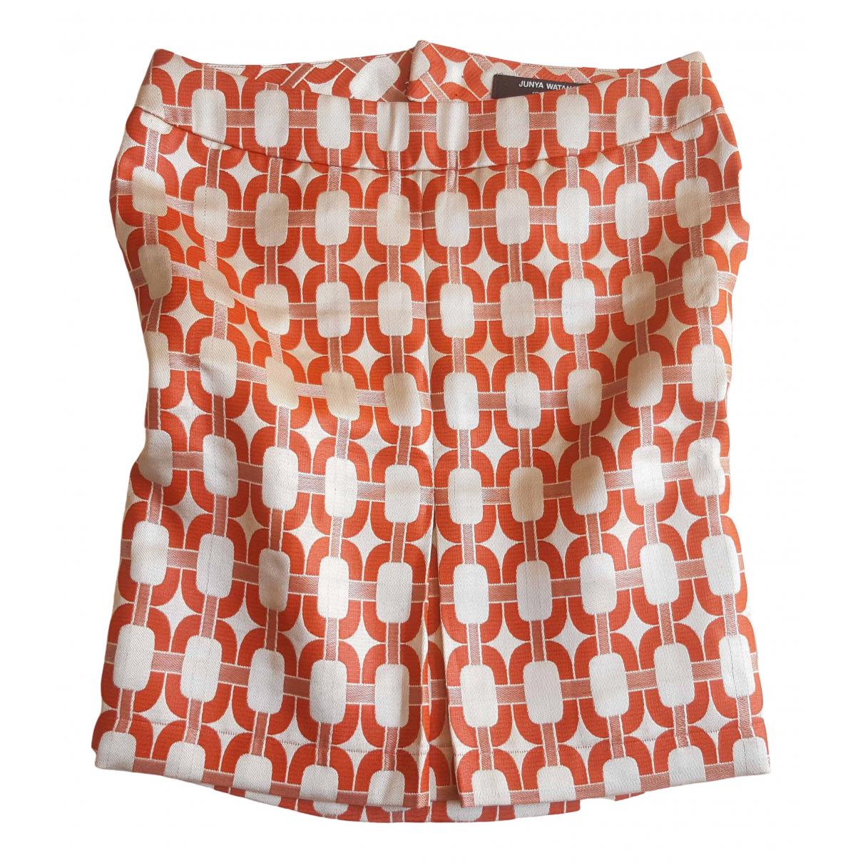 Junya Watanabe \N Rocke in  Orange Polyester