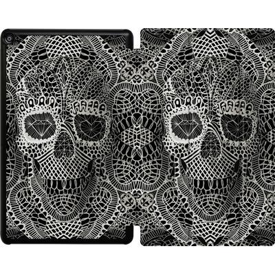 Amazon Fire HD 10 (2017) Tablet Smart Case - Lace Skull von Ali Gulec