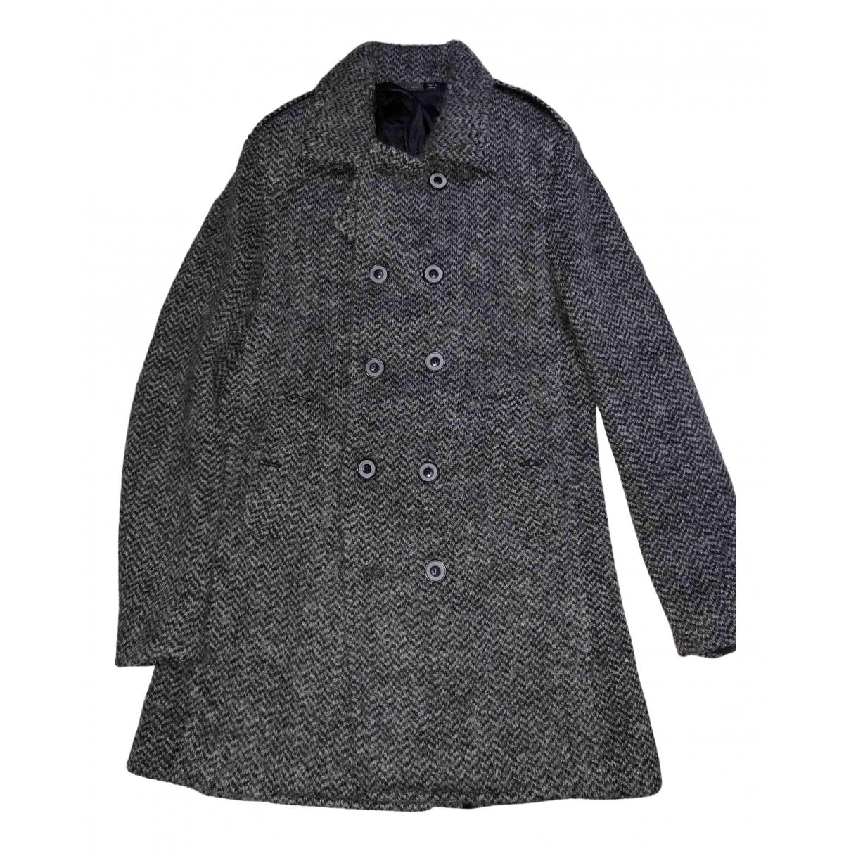 Zara N Grey Wool coat  for Men L International