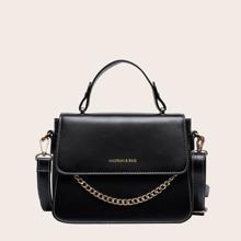 Handtasche mit Kette Dekor