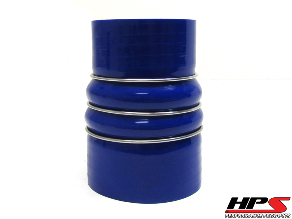 HPS 3 to 3.5inch 4-ply Reinforced CAC Charge Air Cooler Silicone Hose Reducer Coupler COLD Side