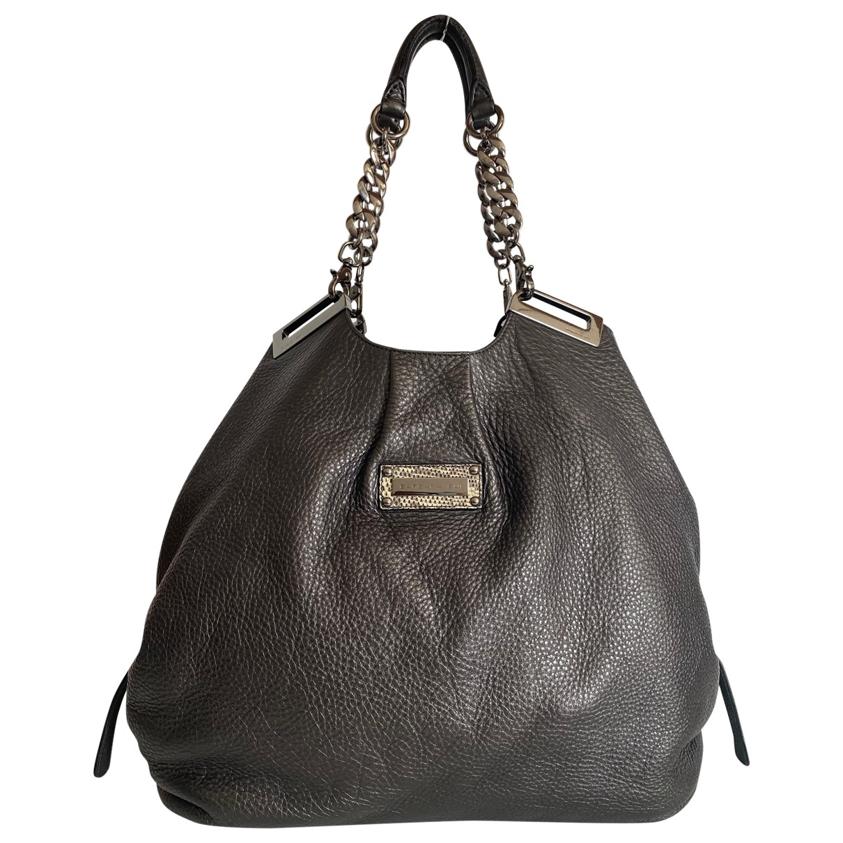 Barbara Bui \N Handtasche in  Schwarz Leder