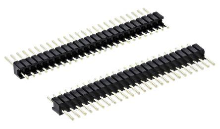 HARWIN , Archer M52, 25 Way, 1 Row, Straight PCB Header (5)