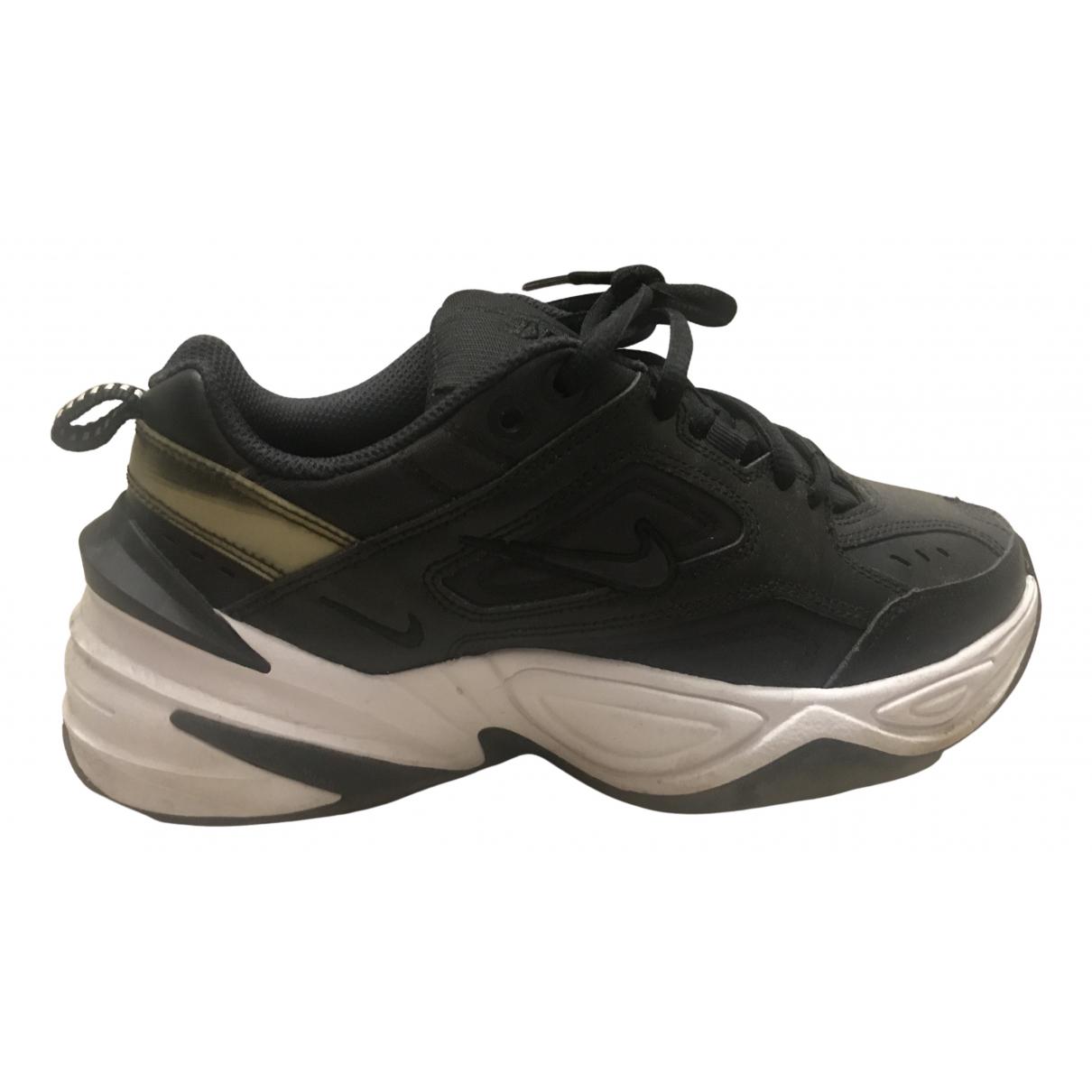 Nike M2K Tekno Black Cloth Trainers for Women 38.5 IT