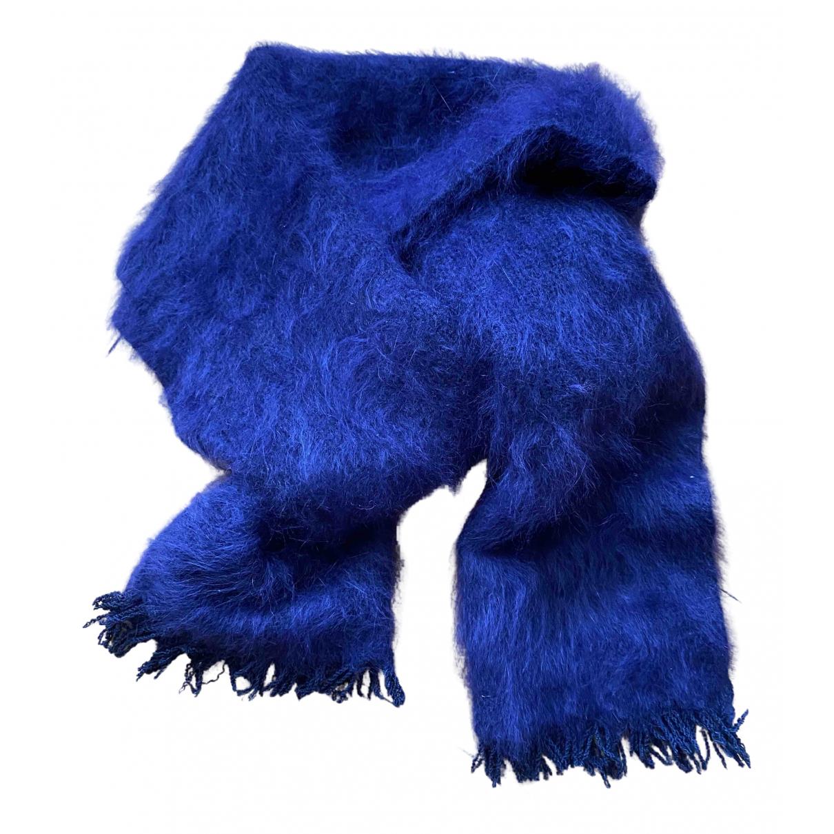 Hermès N Blue Cashmere scarf for Women N