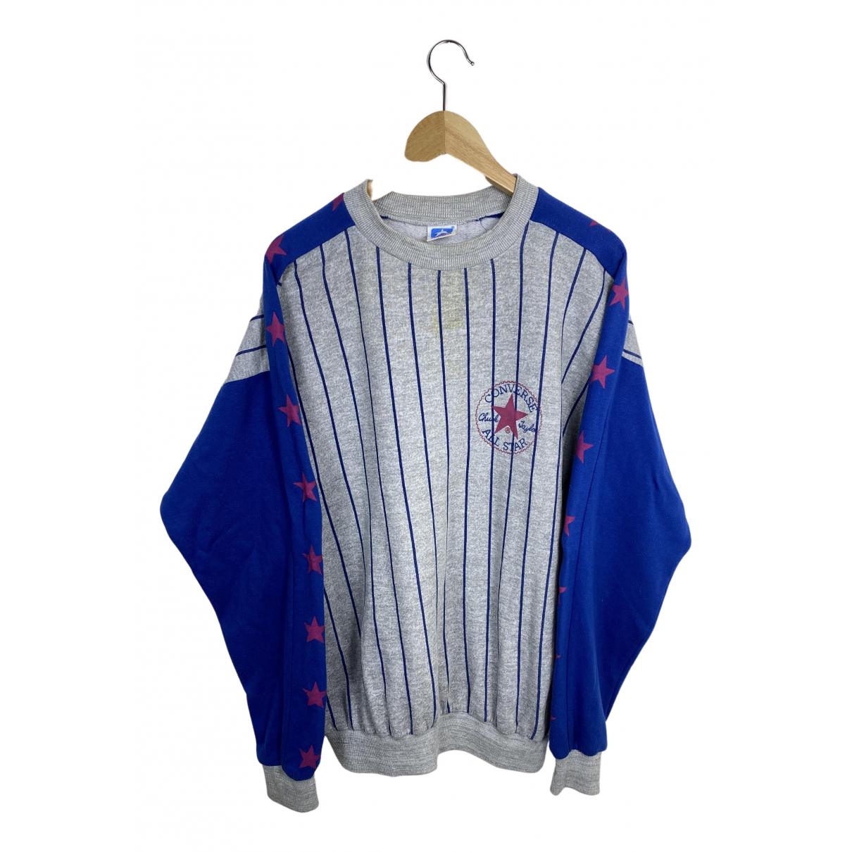 Converse N Grey Cotton Knitwear & Sweatshirts for Men L International