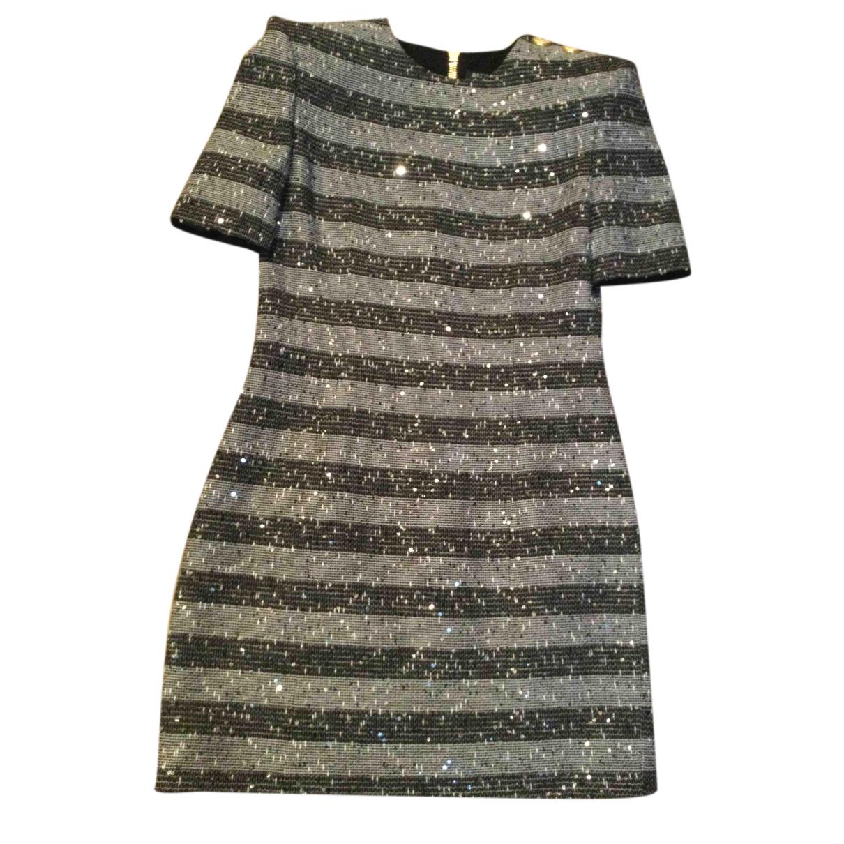 Balmain - Robe   pour femme - gris