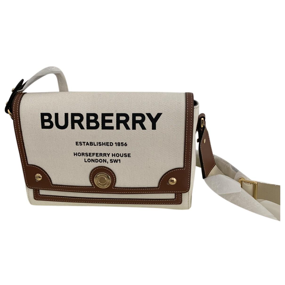 Burberry - Pochette TB bag pour femme en coton