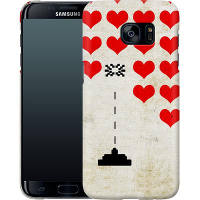 Samsung Galaxy S7 Edge Smartphone Huelle - Heart Attack von Claus-Peter Schops