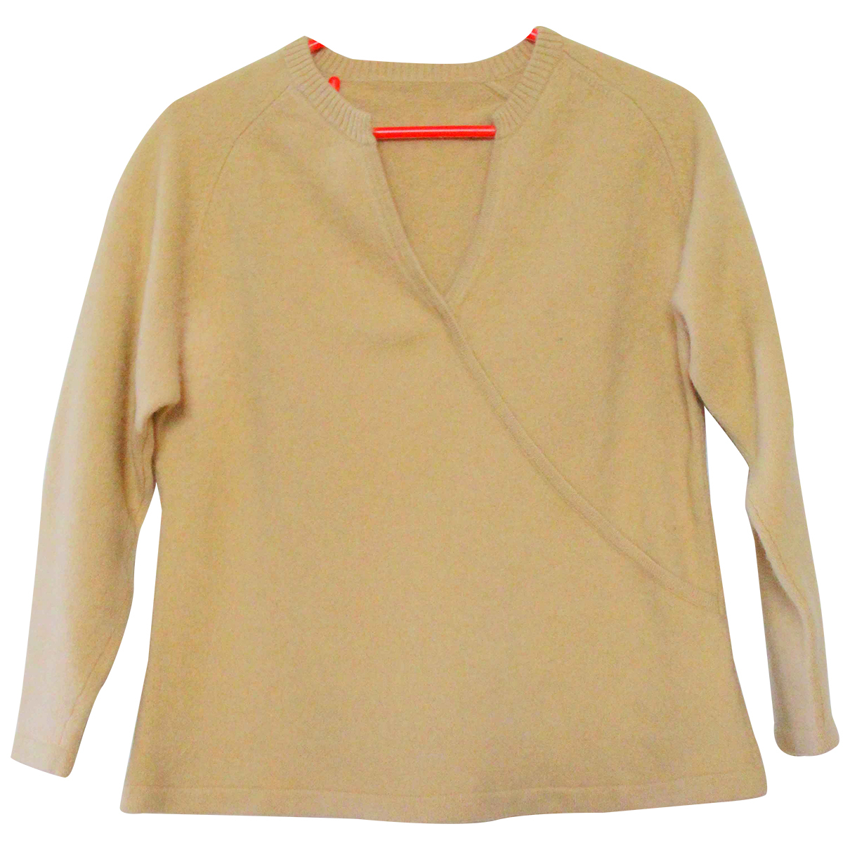 Non Signé / Unsigned N Beige Cashmere Knitwear for Women L International