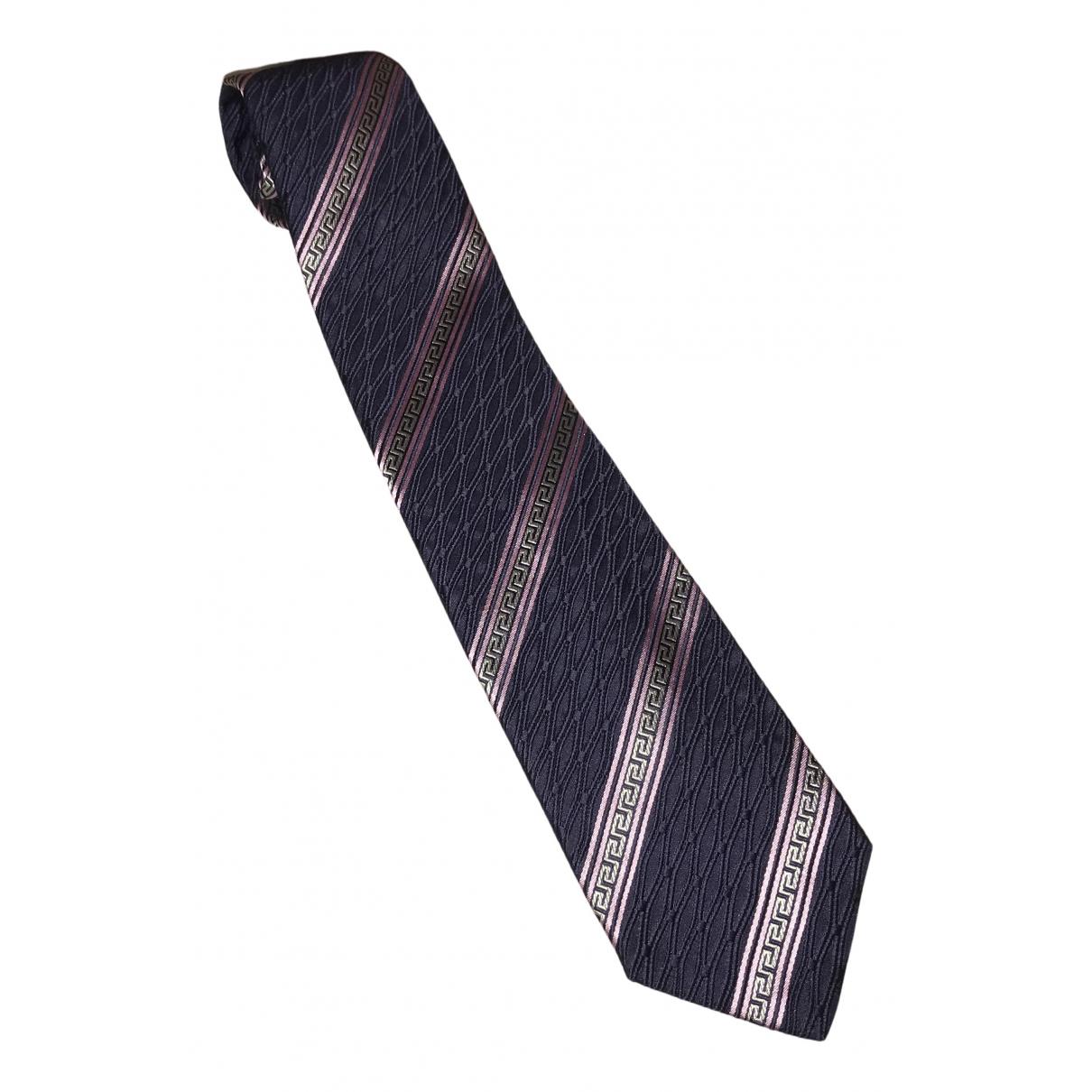 Versace N Multicolour Silk Ties for Men N