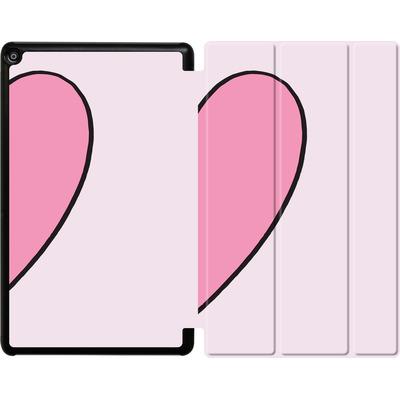 Amazon Fire HD 10 (2017) Tablet Smart Case - Half Heart Right von caseable Designs