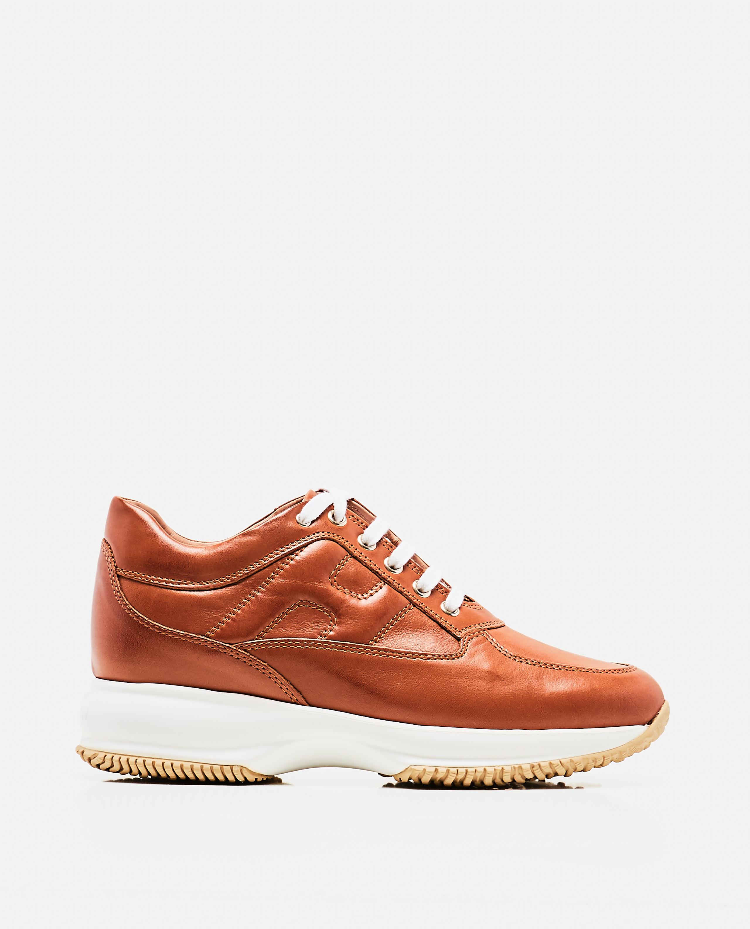 Interactive Brown Sneaker