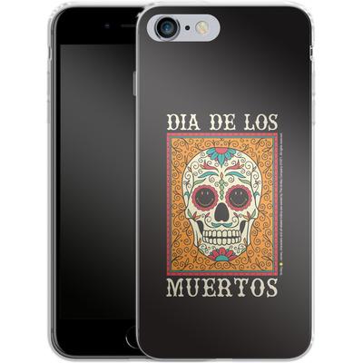 Apple iPhone 6 Plus Silikon Handyhuelle - Dia De Los Muertos von Smiley®
