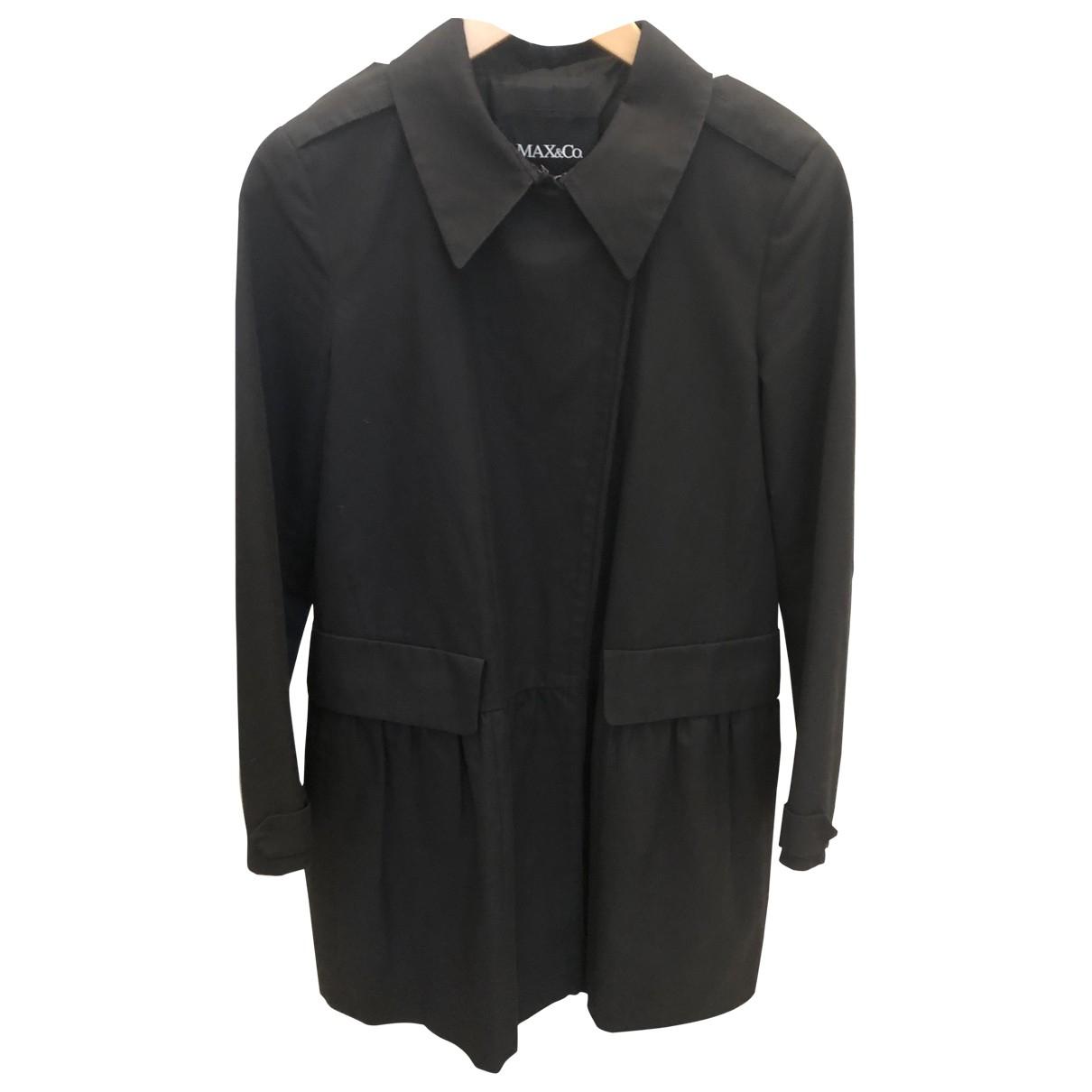 Max & Co - Jupe   pour femme en coton - noir