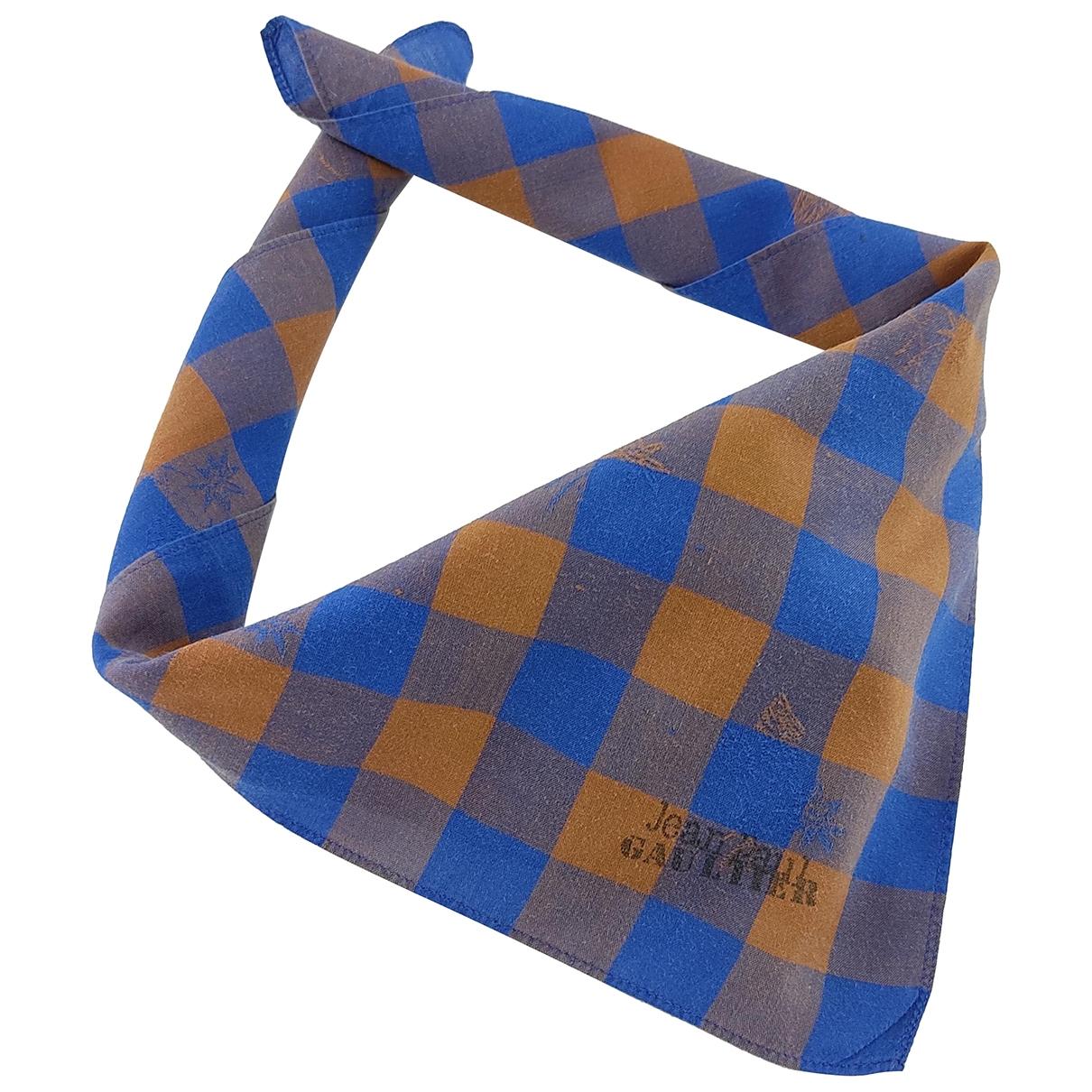 Jean Paul Gaultier \N Multicolour Cotton scarf & pocket squares for Men \N