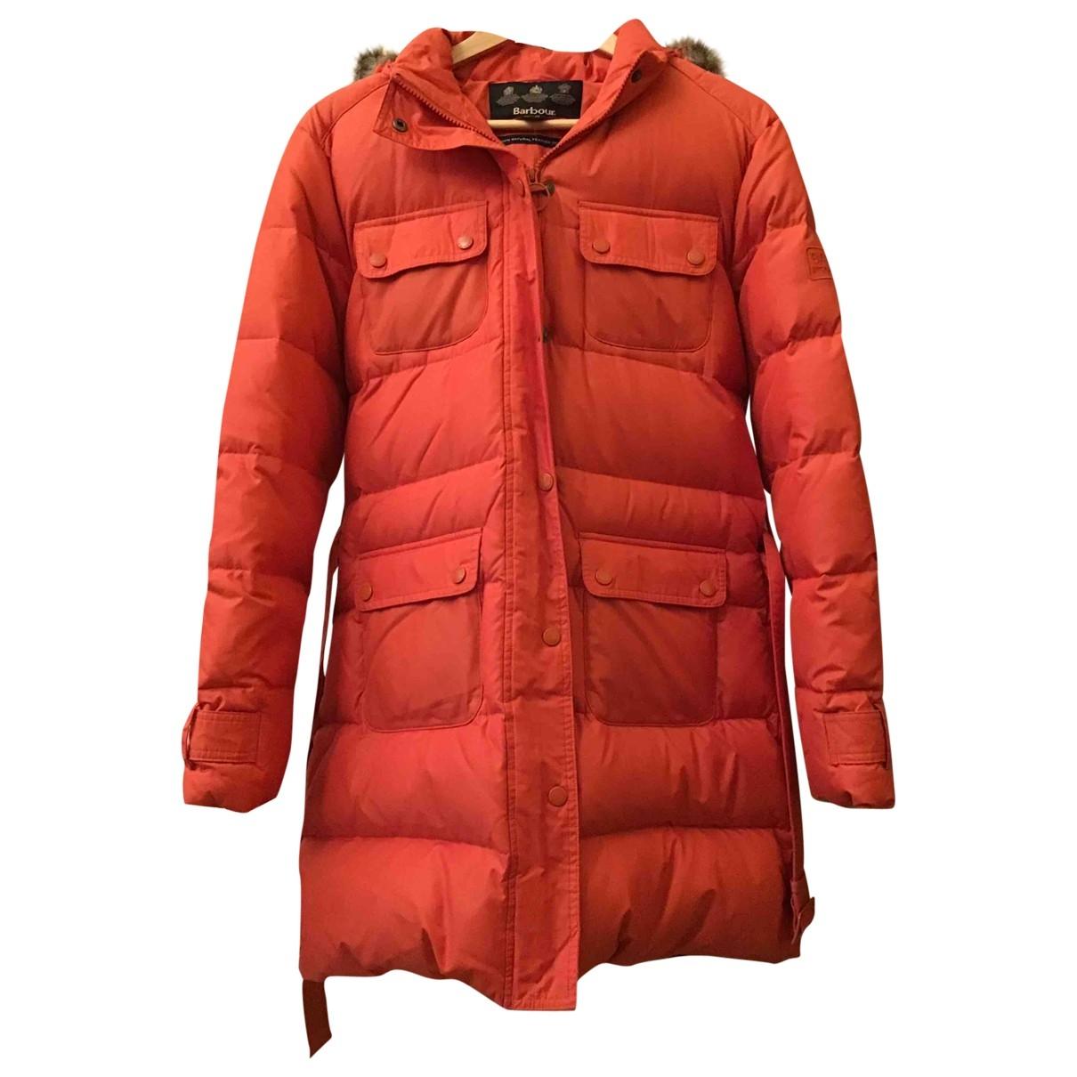 Barbour - Manteau   pour femme - orange