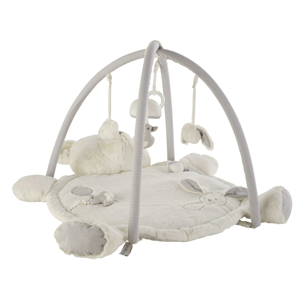 Krabbel- und Spieldecke Baerchen aus Baumwolle 70x90