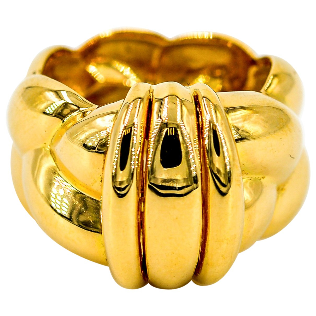 O.j. Perrin N Gold Yellow gold ring for Women 50 MM
