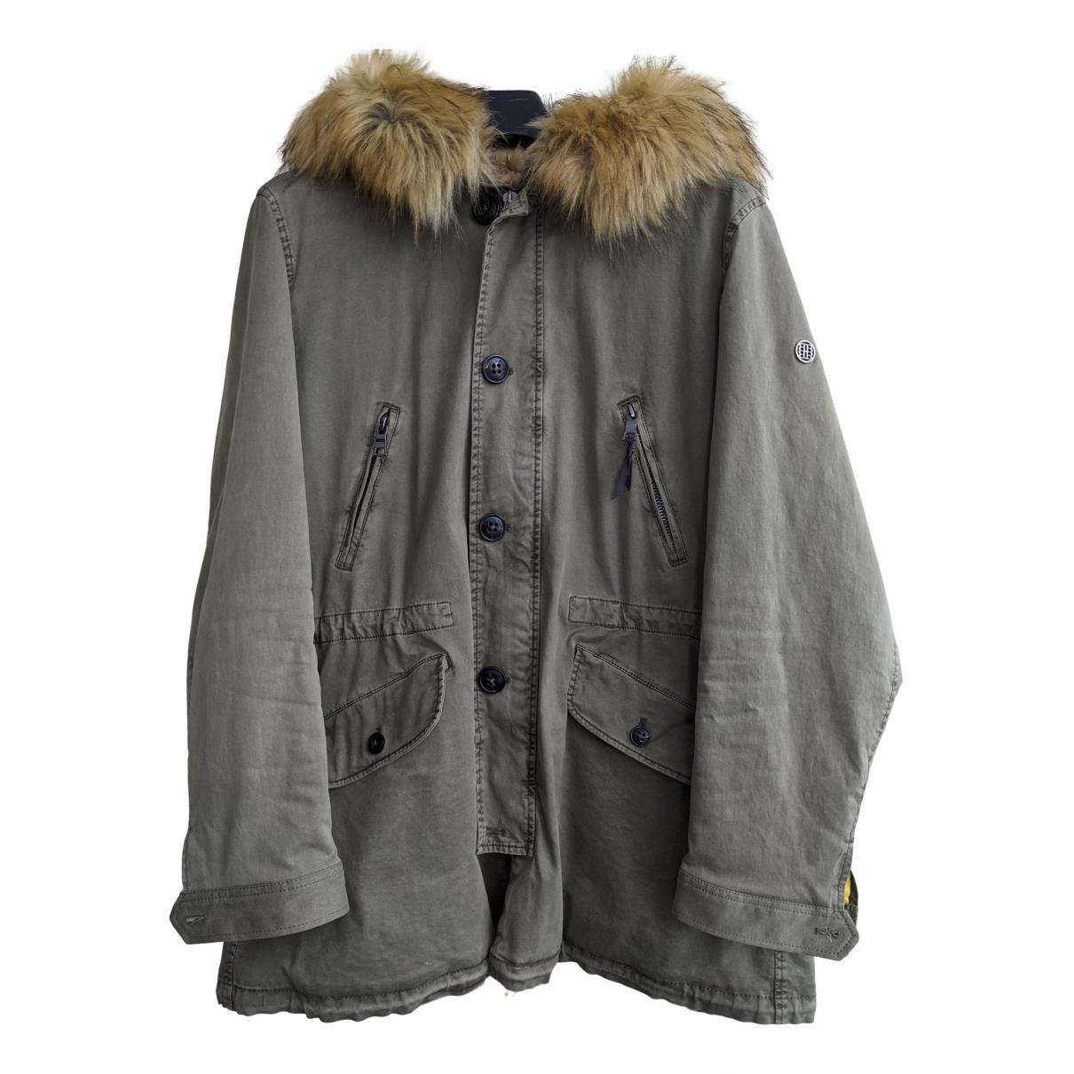 Blonde No.8 - Manteau   pour homme en coton - kaki