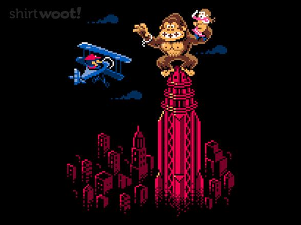 8-bit King T Shirt