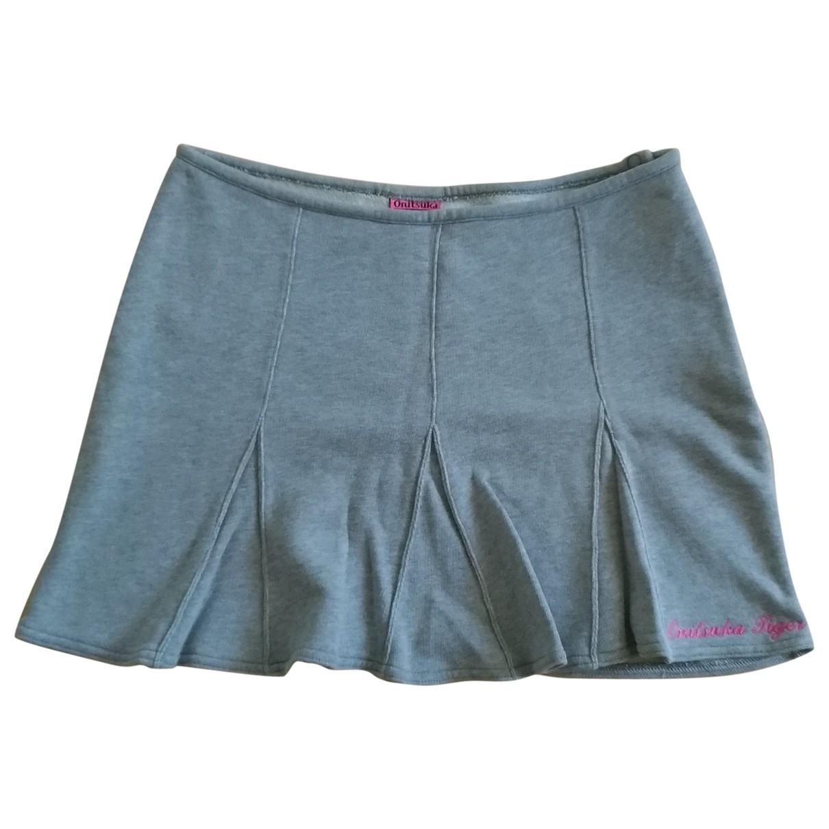 Onitsuka Tiger \N Grey Cotton skirt for Women S International