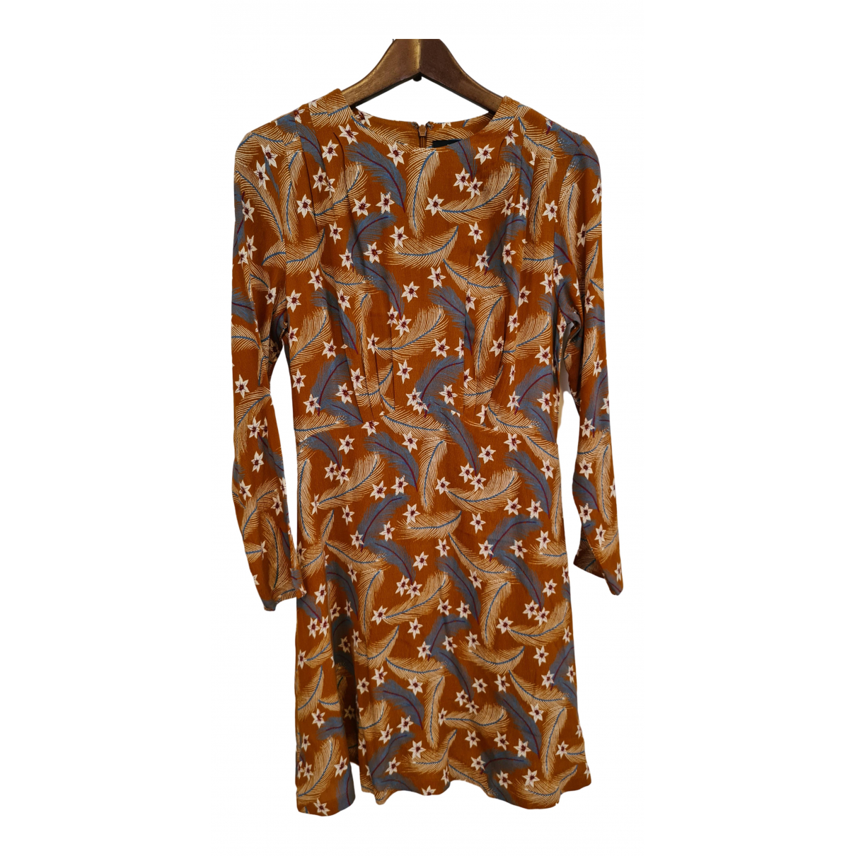 & Other Stories \N Kleid in  Orange Viskose