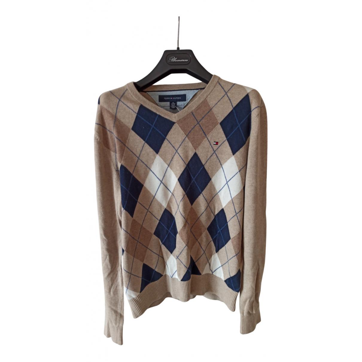 Tommy Hilfiger N Beige Cotton Knitwear for Women XS International