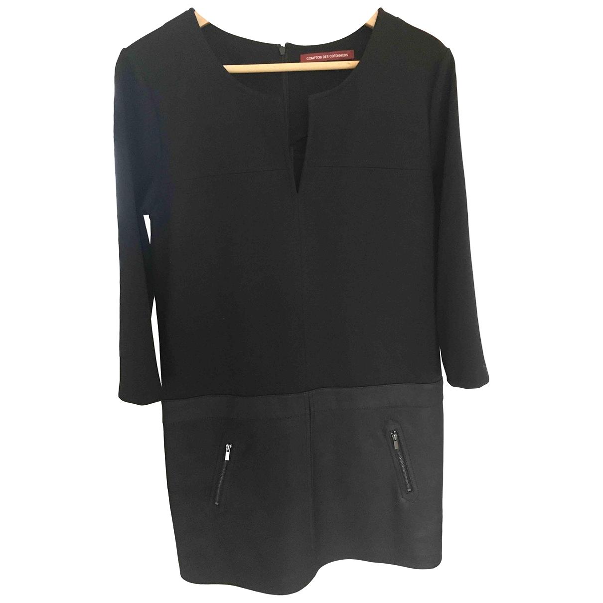 Comptoir Des Cotonniers - Robe   pour femme en cuir - noir