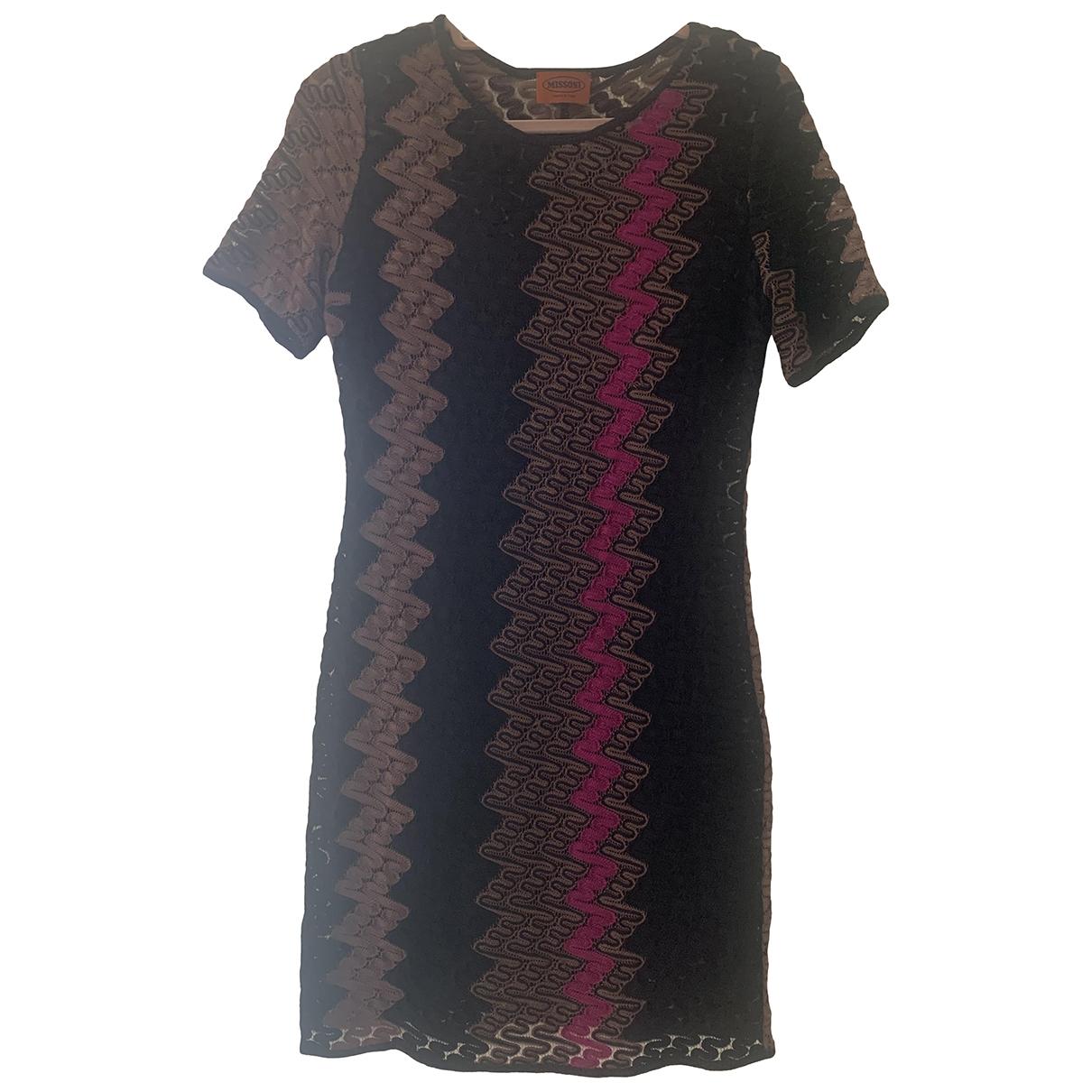 Missoni \N Kleid in  Rosa Baumwolle