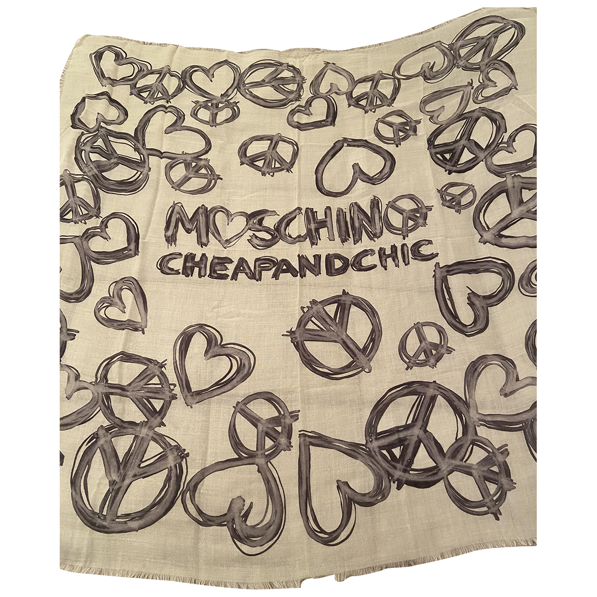 Moschino - Foulards.Echarpes   pour enfant en laine - beige