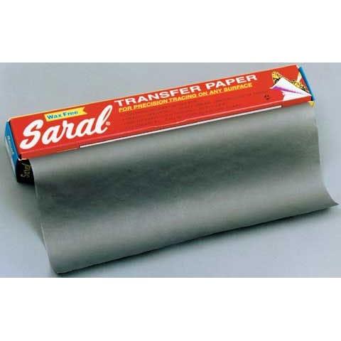 Saral - Transfer Paper - Graphite Black (Black)