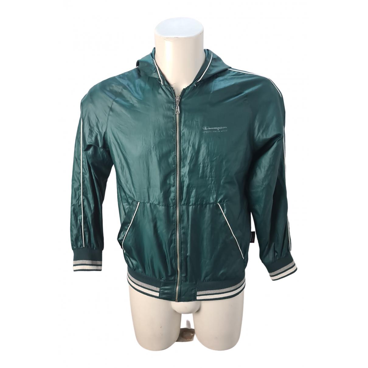 Champion - Blousons.Manteaux   pour enfant - vert
