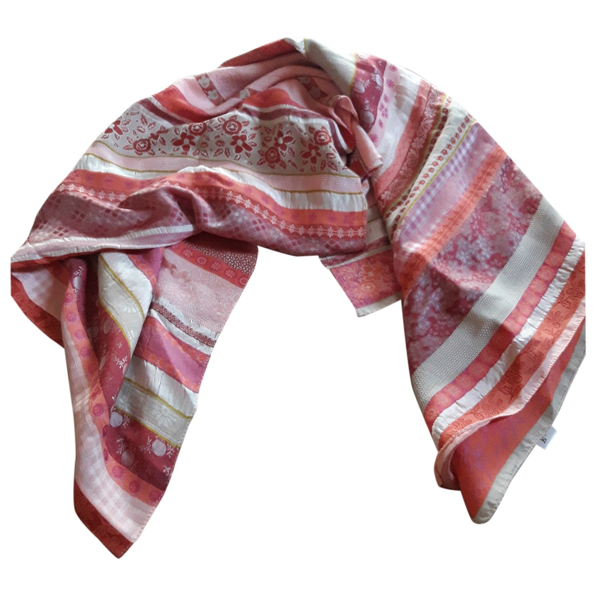 Kenzo \N Pink Cotton scarf for Women \N