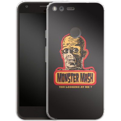 Google Pixel Silikon Handyhuelle - Monster Mash von caseable Designs