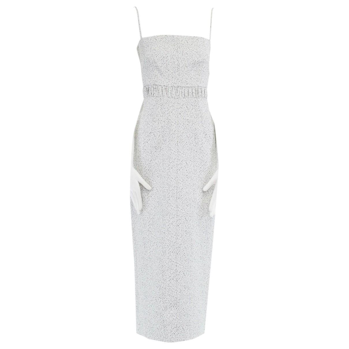 Emilia Wickstead \N Kleid in  Grau Baumwolle