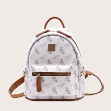 Horse Graphic Backpack