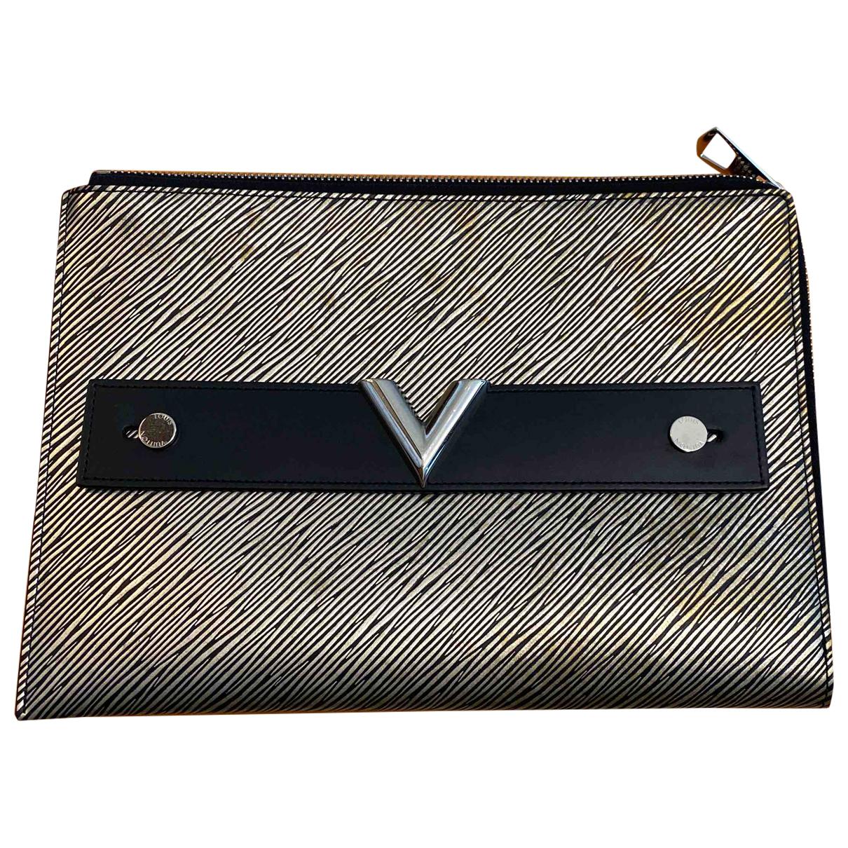 Louis Vuitton \N Metallic Leather Clutch bag for Women \N