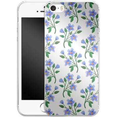 Apple iPhone 5s Silikon Handyhuelle - Fresh Bloom von Iisa Monttinen
