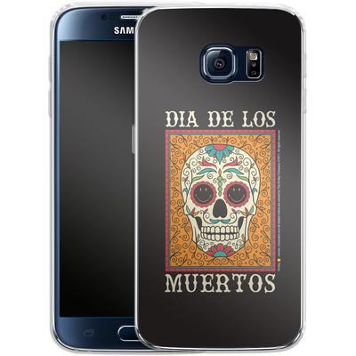 Samsung Galaxy S6 Silikon Handyhuelle - Dia De Los Muertos von Smiley®